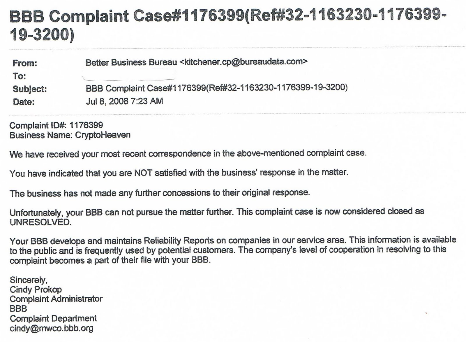 case of complaining customer Case discussions from harvard business review are lively accounts of management challenges with expert commentary from academic and case of the complaining customer.
