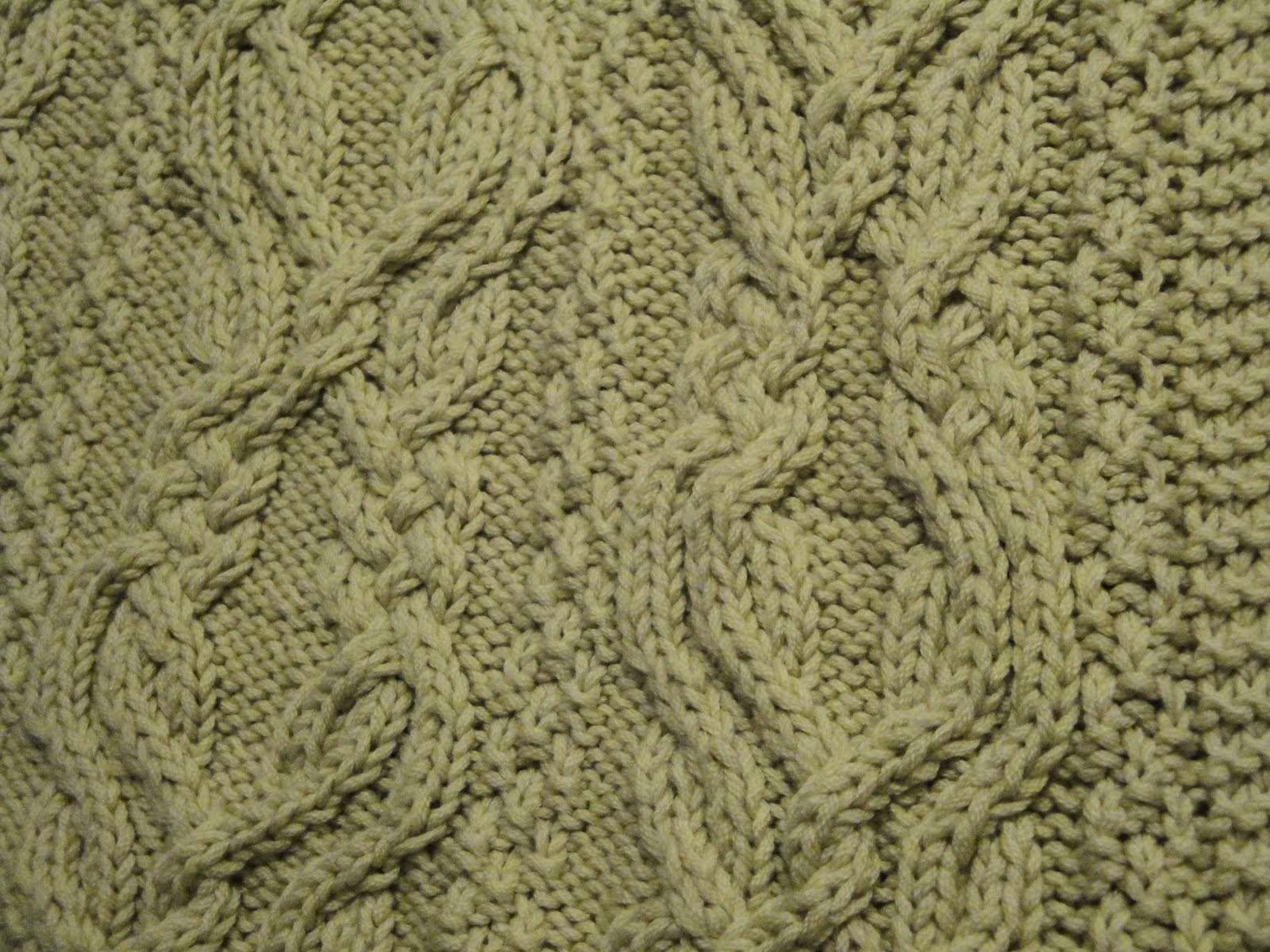 Crocheting Cables : Free Crochet Cable Afghan Pattern