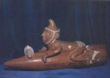 Huaco Moche IV (400 D.C.). Coleccion Amano. Lima