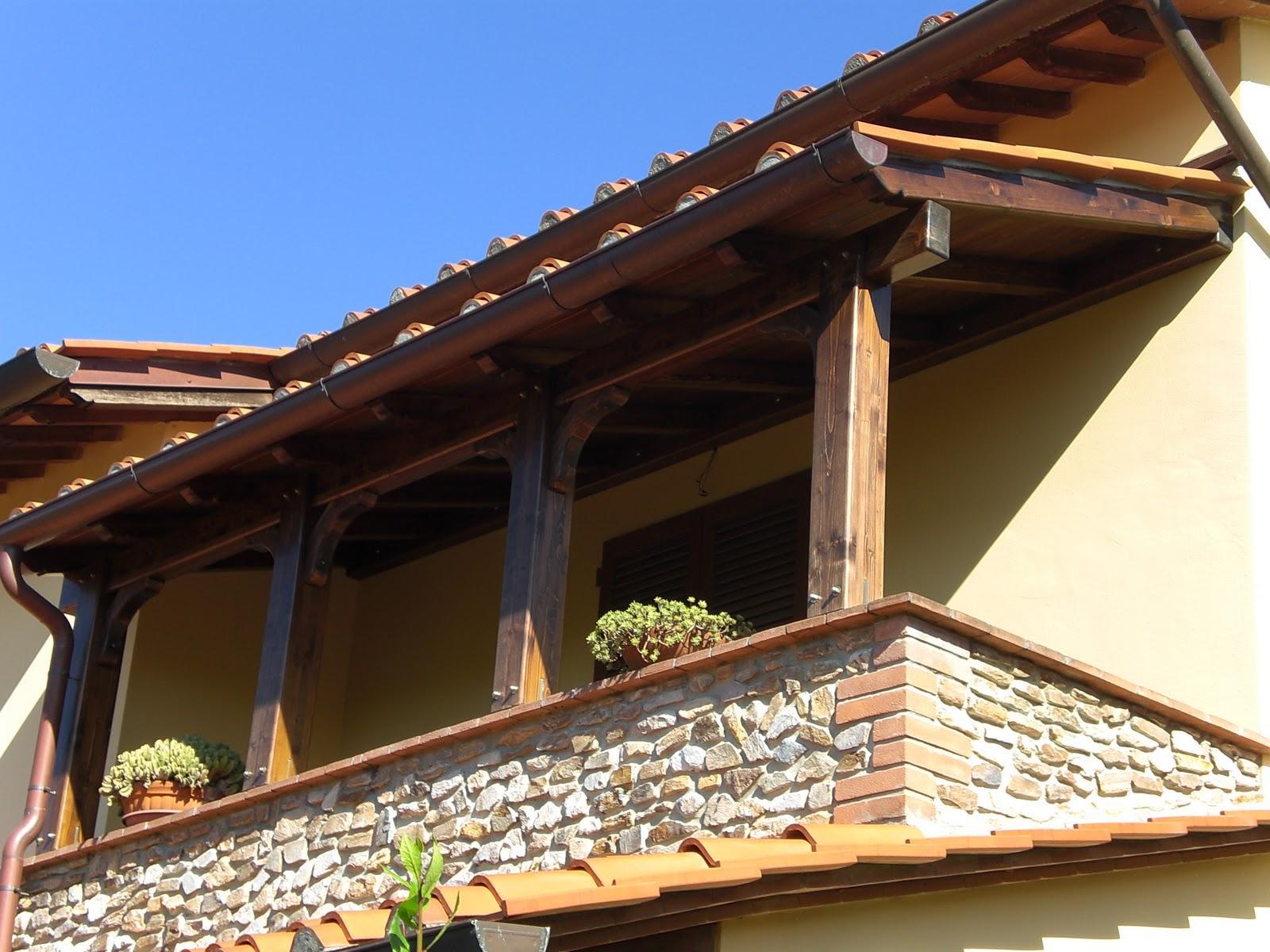 Montagnani paolo s r l strutture in legno tettoia - Soluzioni per copertura terrazzi ...