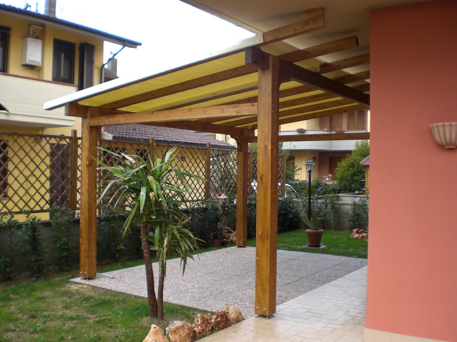 Montagnani paolo s r l strutture in legno gazebo staccato - Gazebo per terrazza ...