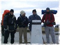 Aqui os 4 maganos, prontos para a aventura
