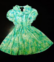 Polo Green Flowery Dress