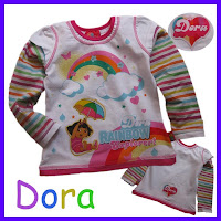 Dora Rainbow Explorer Top