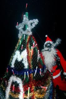 Scuba Santa