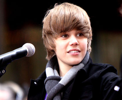 It's truly a Justin Bieber world, and nowhere is that more apparent than in