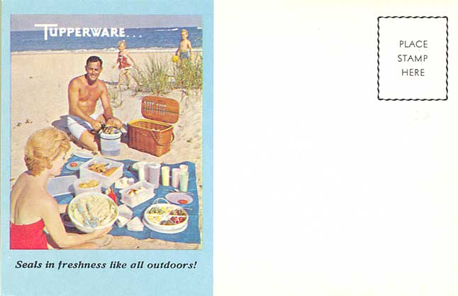 POSTCARDY the postcard explorer VTT Parties – Tupperware Party Invitation