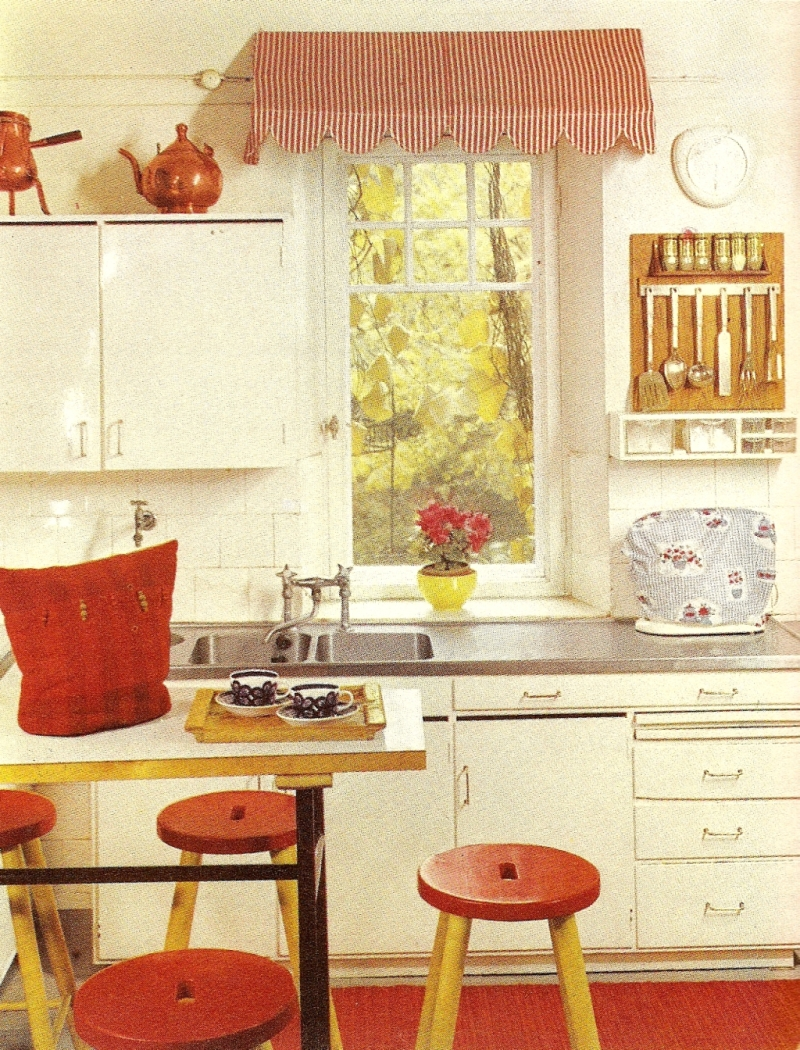 Keittiö on Pinterest  Yellow Kitchens, Black Rug and Small Kitchen Designs