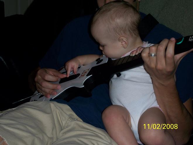 She loves the guitar