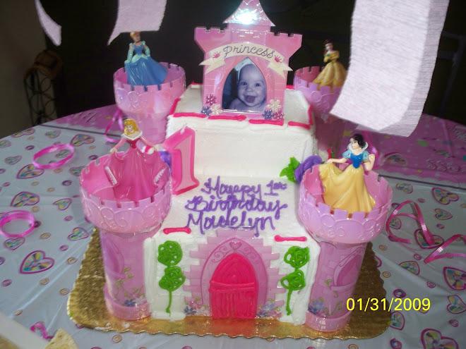 Maddys birthday cake!