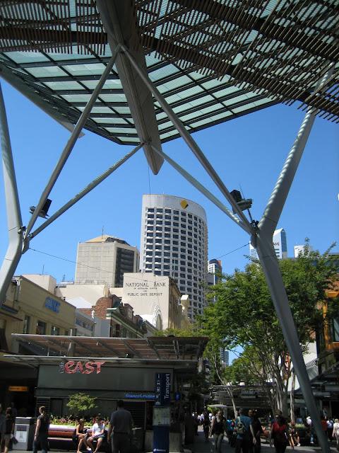 Lunch in Brisbane City, Cicada