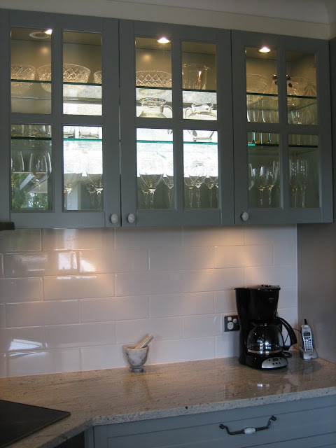 Grey French Provincial Kitchen via Natasha in Oz