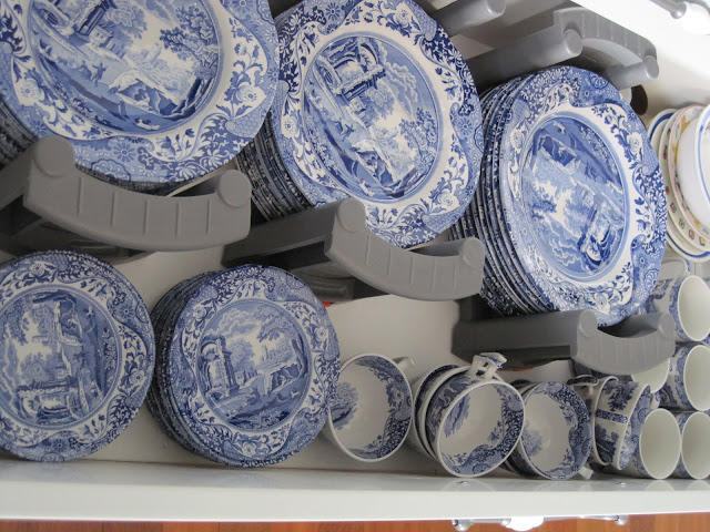 Organizing the Kitchen, Where do I keep my stuff, Natasha in Oz, Spode dishes