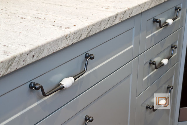 Limoge porcelain drawer pulls via @natashainozblog