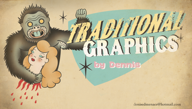 OLD FASHIONED GRAPHICS WHITH STYLE!!!