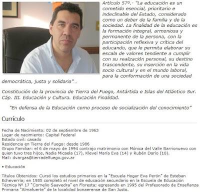 Un error o el Ministro Vargas se recibio por correo