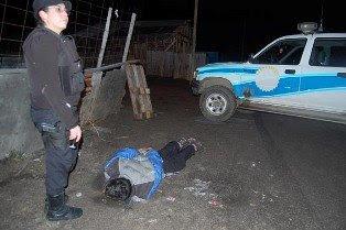 Choques, detenciones y un insolito robo en Ushuaia
