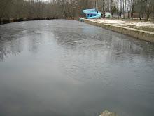 Río Furelos conxelado