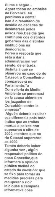 """13-Novembro-2007  """"OPINIÓN"""""""