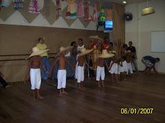 Folclore Seac grupo de Capoeira