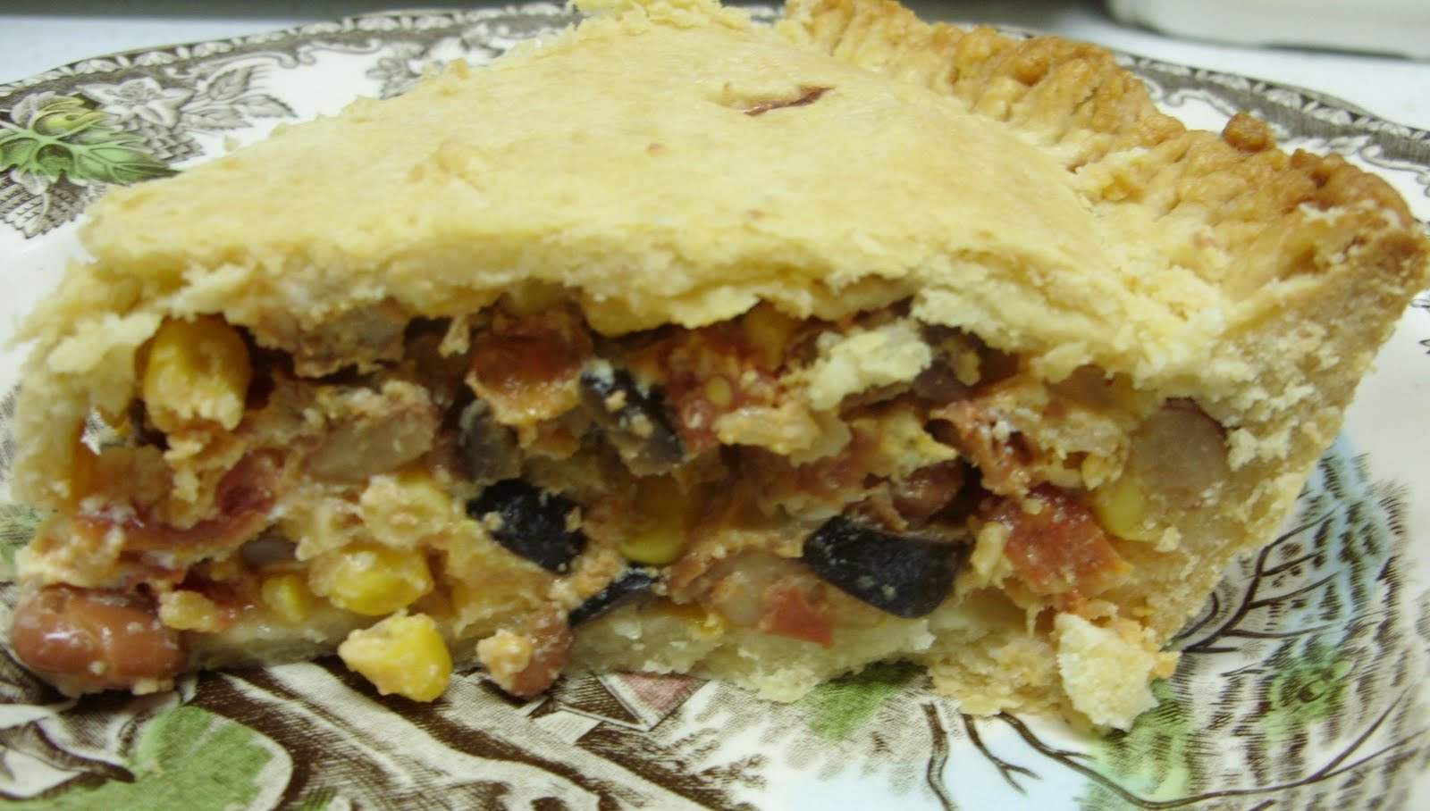 Eat The Blog: Tomato and Corn Pie