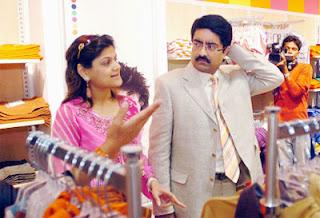 Kumarmanglam + Neerja Birla at Peter England People Store, Oberoi Mall, Mumbai