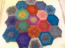 Gina's Hexagon Blanket