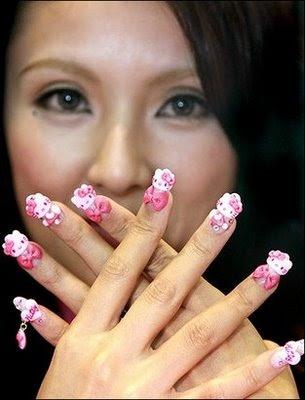 En respuesta al gran interés de nuestros lectores acerca de las uñas ...