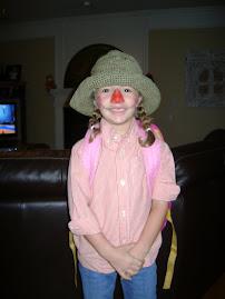 Ashlyn on Scarecrow Day
