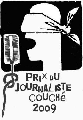 Prix du journaliste couché 2009
