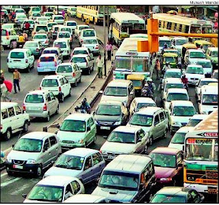 badarpur flyover traffic snarls and congestion