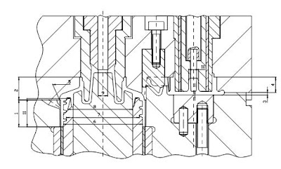 Critical core/cavity stack-up metal dimensions