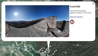 360 cities en Google Earth