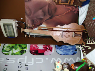Violino de Chocolate