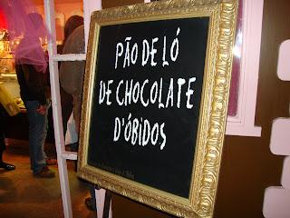 Pão de Ló de Chocolate de Óbidos
