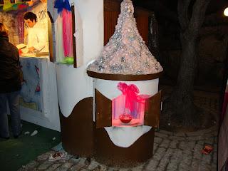 Pequena casa de Chocolate
