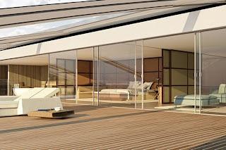 terraço do iate