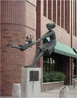 Escultura em Salt Lake City Utah U.S.A.