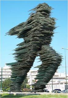 Escultura Dromeas em Grécia Atenas