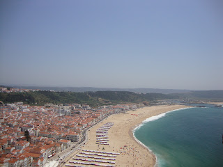 Nazaré beach houses, Sea and Sand photo