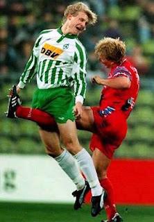 Agressão no futebol