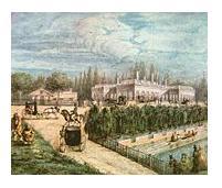 Acuarela de C.Sívori - 1850