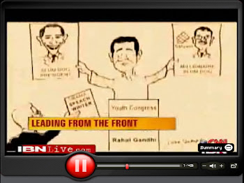 CNN IBN News on Jose' cartoons