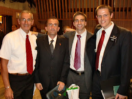 Elder Jacinto and Elder Sommerfeldt with members from Palma