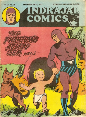 Image result for phantom comics illustrated weekly of india