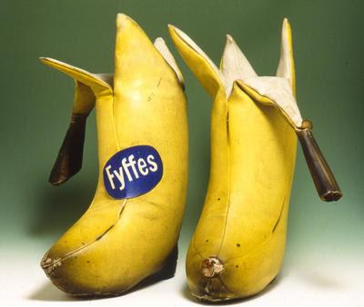 Bananen-Stiefeletten