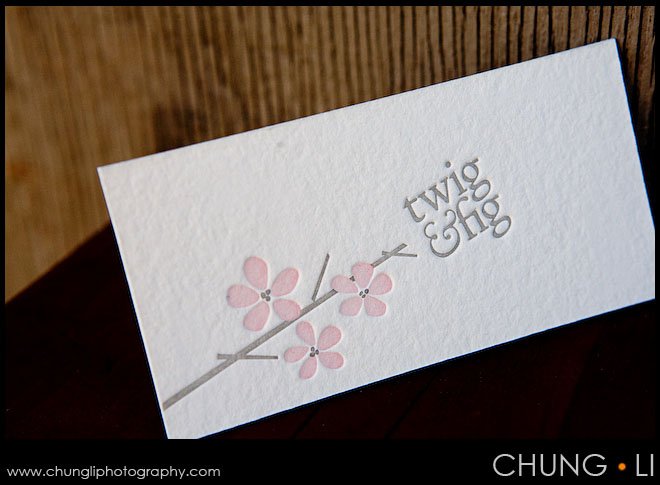 wedding invitation card twig and fig berkeley