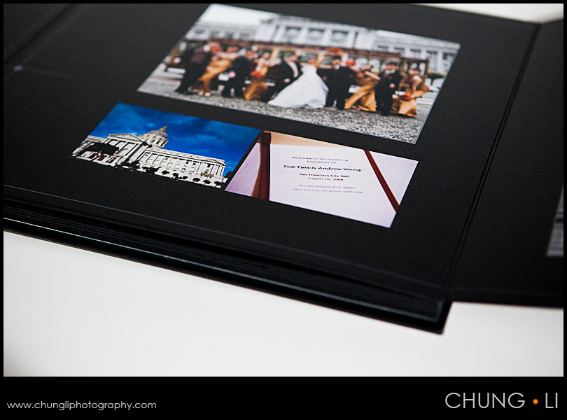 LA Vie Wedding Album Chung Li Wedding