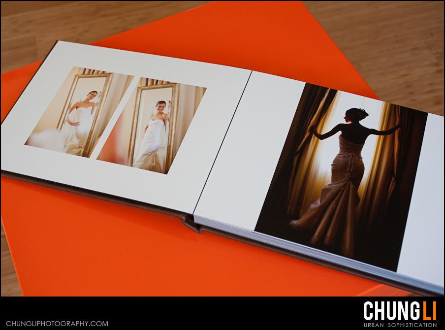 san francisco wedding photographer chung li leather craftsmen wedding album