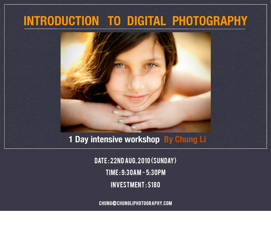 San Francisco digital photography class